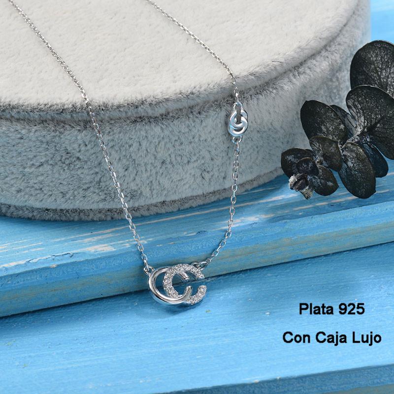 Collares de Plata 925 Puro para Mujer -PLNEG190-24242