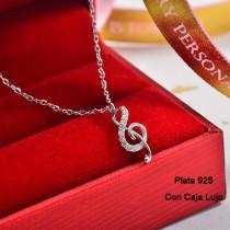 Collares de Plata 925 Puro para Mujer -PLNEG190-24202