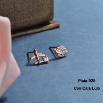 Aretes de Plata 925 Puro para Mujer -PLEGG190-24180