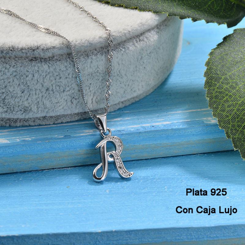 Collares de Plata 925 Puro para Mujer -PLNEG190-24223