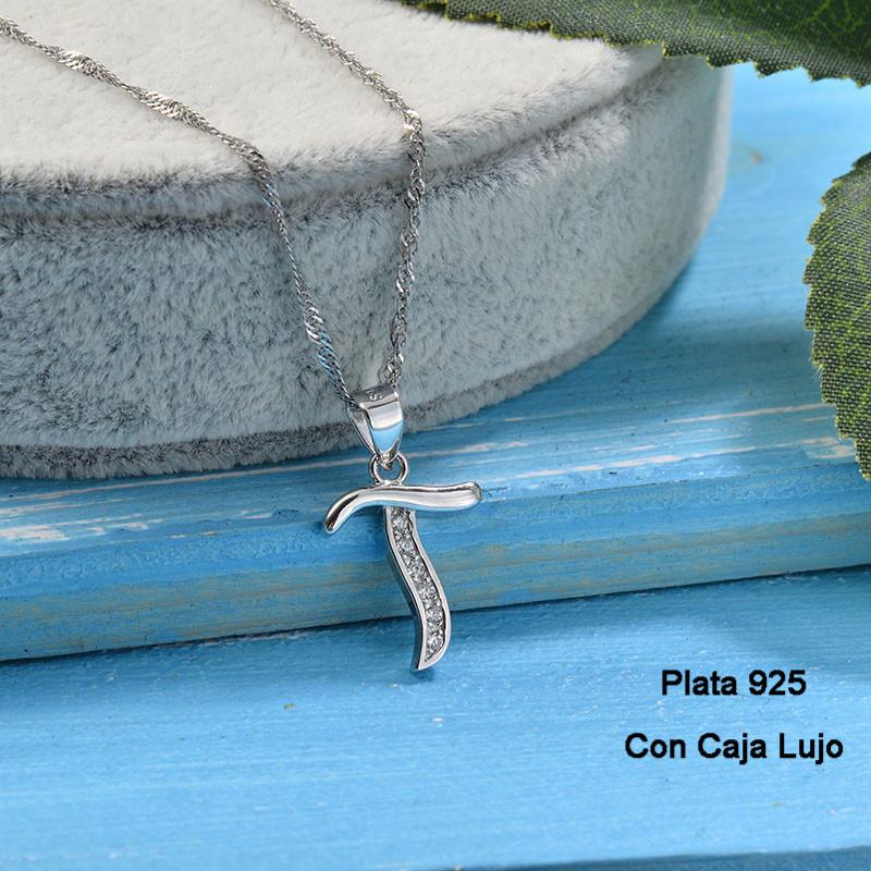 Collares de Plata 925 Puro para Mujer -PLNEG190-24225
