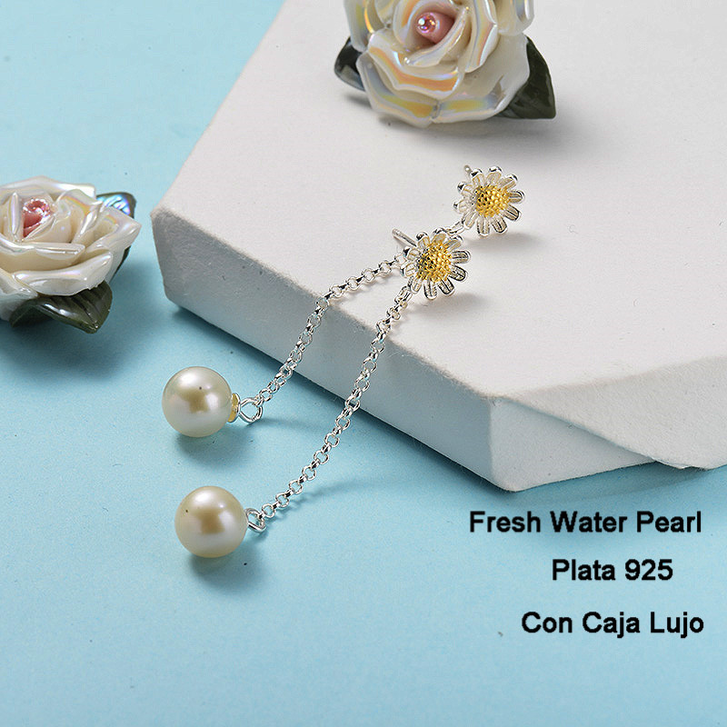 Aretes de Plata 925 Puro para Mujer -PLEGG191-24267