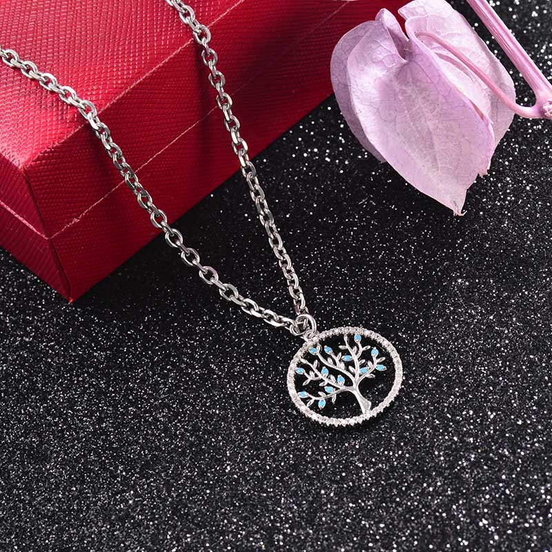 Collar de Laton con cadena de acero -SSNEG142-23747