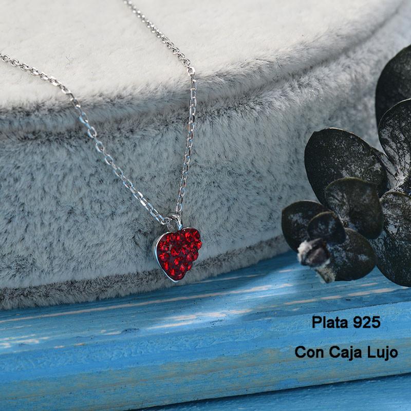 Collares de Plata 925 Puro para Mujer -PLNEG190-24246