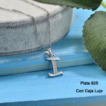 Collares de Plata 925 Puro para Mujer -PLNEG190-24215