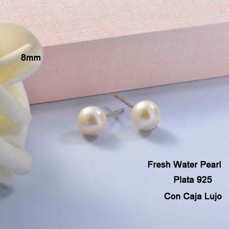 Aretes de Plata 925 Puro para Mujer -PLEGG191-24274