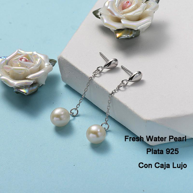 Aretes de Plata 925 Puro para Mujer -PLEGG191-24266