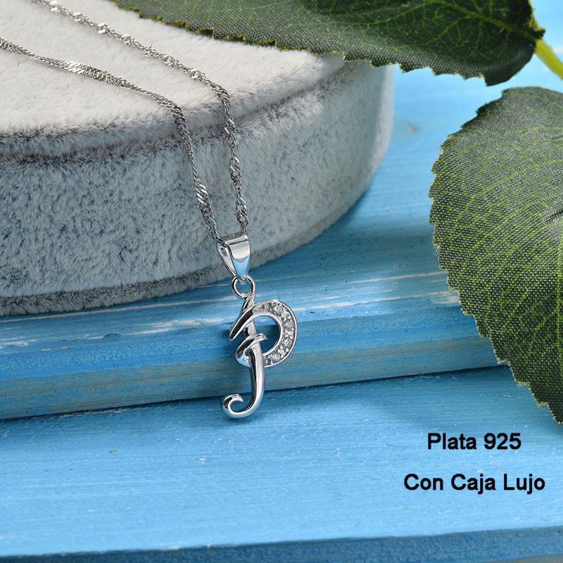Collares de Plata 925 Puro para Mujer -PLNEG190-24221