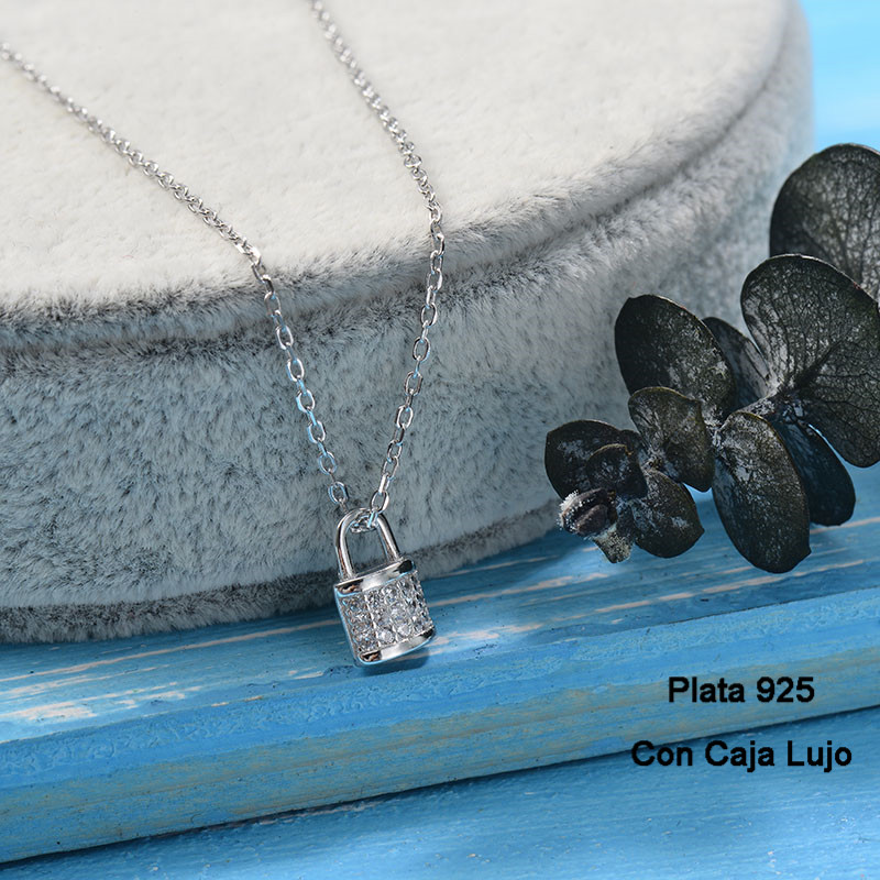 Collares de Plata 925 Puro para Mujer -PLNEG190-24245