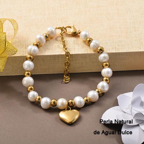 Pulsera de Perla Agua Dulce -SSBTG142-24793