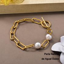 Pulsera de Perla Agua Dulce -SSBTG142-24795