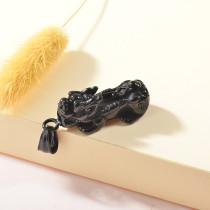 Dije de Negro en Acero Inoxidable para Hombre-SSPTG146-25179
