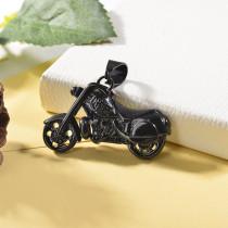 Dije de Negro en Acero Inoxidable para Hombre-SSPTG146-25052