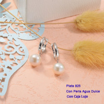 Collares de Plata 925 con perla agua dulce -PLEGG191-25432