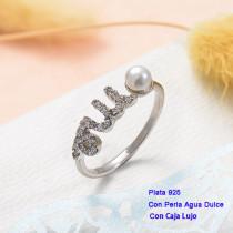 Anillos de Plata 925 con perla agua dulce -PLRGG191-25429