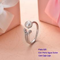 Anillos de Plata 925 con perla agua dulce -PLRGG191-25413