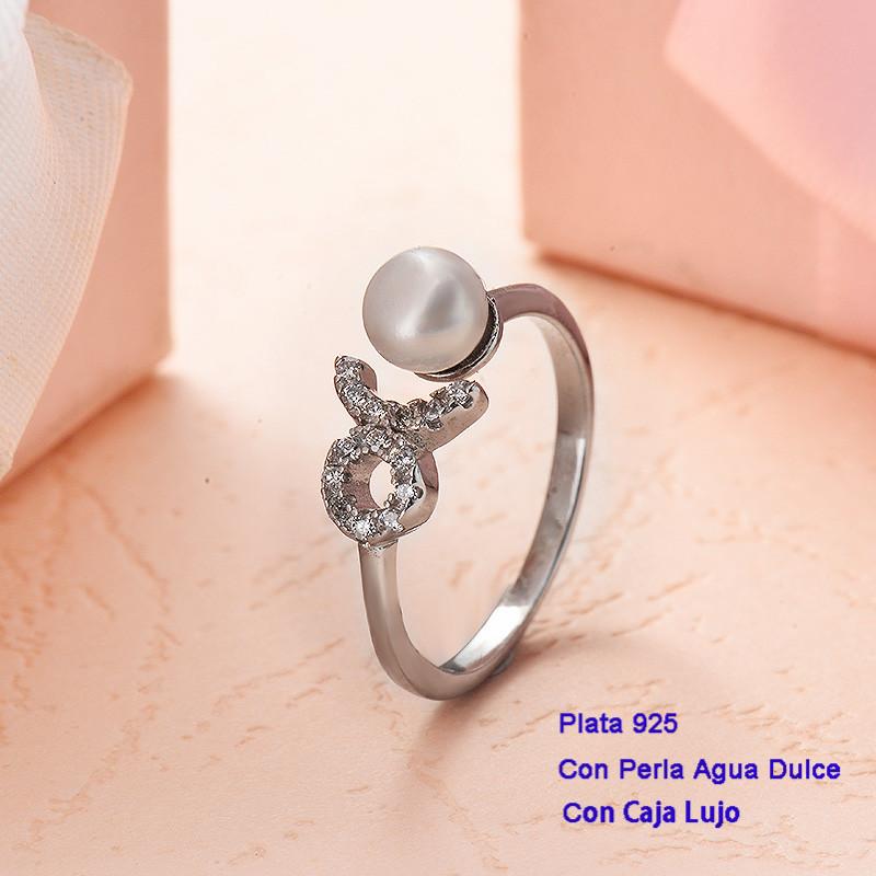 Anillos de Plata 925 con perla agua dulce -PLRGG191-25409