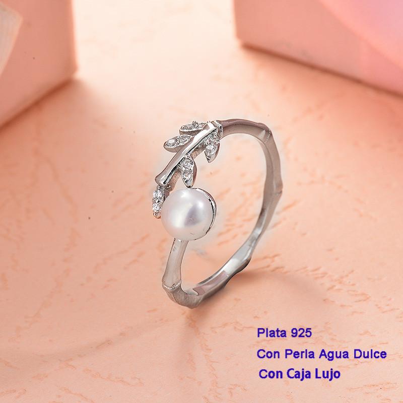 Anillos de Plata 925 con perla agua dulce -PLRGG191-25420