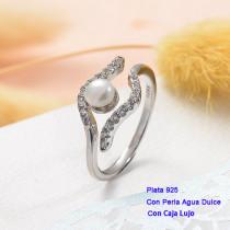 Anillos de Plata 925 con perla agua dulce -PLRGG191-25430