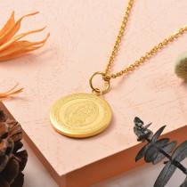 Collares de Acero Inoxidable para Mujer -SSNEG129-25392