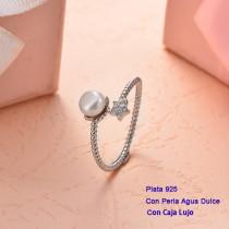 Anillos de Plata 925 con perla agua dulce -PLRGG191-25403