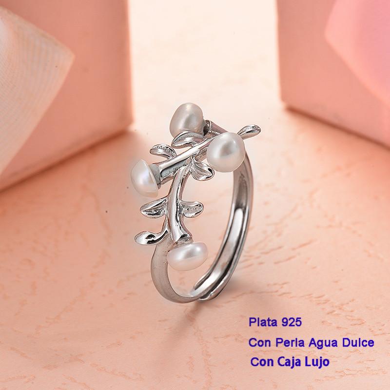 Anillos de Plata 925 con perla agua dulce -PLRGG191-25415