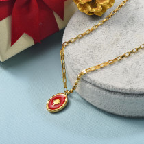 Collares de Acero Inoxidable para Mujer -SSNEG142-25515