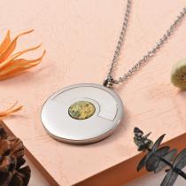 Collares de Acero Inoxidable para Mujer -SSNEG129-25390