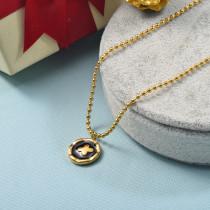 Collares de Acero Inoxidable para Mujer -SSNEG142-25514