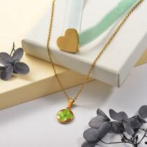Collares de Acero Inoxidable para Mujer -SSNEG142-25501