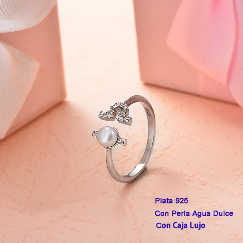 Anillos de Plata 925 con perla agua dulce -PLRGG191-25418