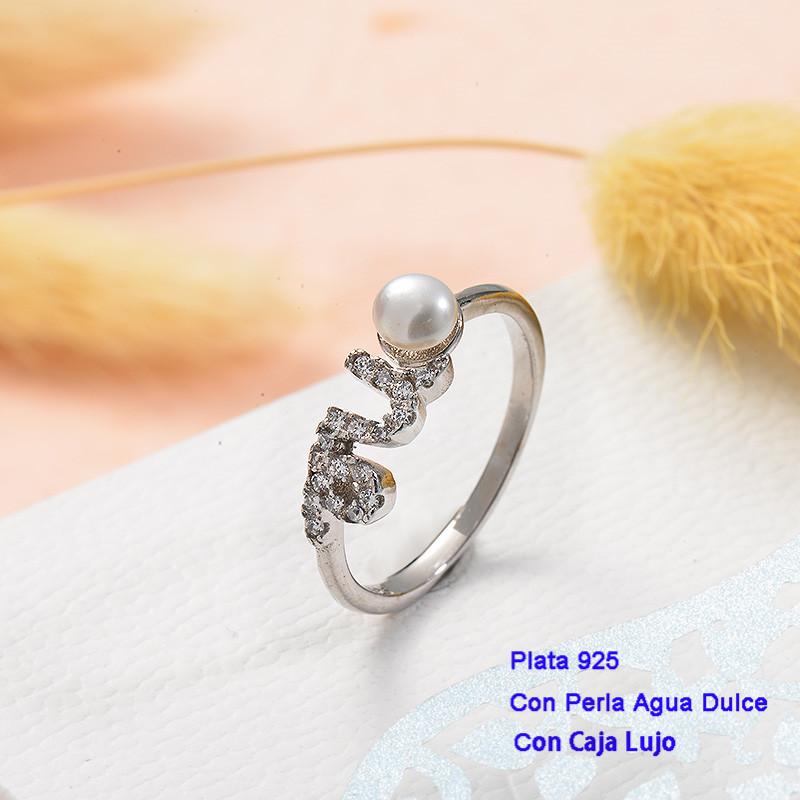 Anillos de Plata 925 con perla agua dulce -PLRGG191-25424
