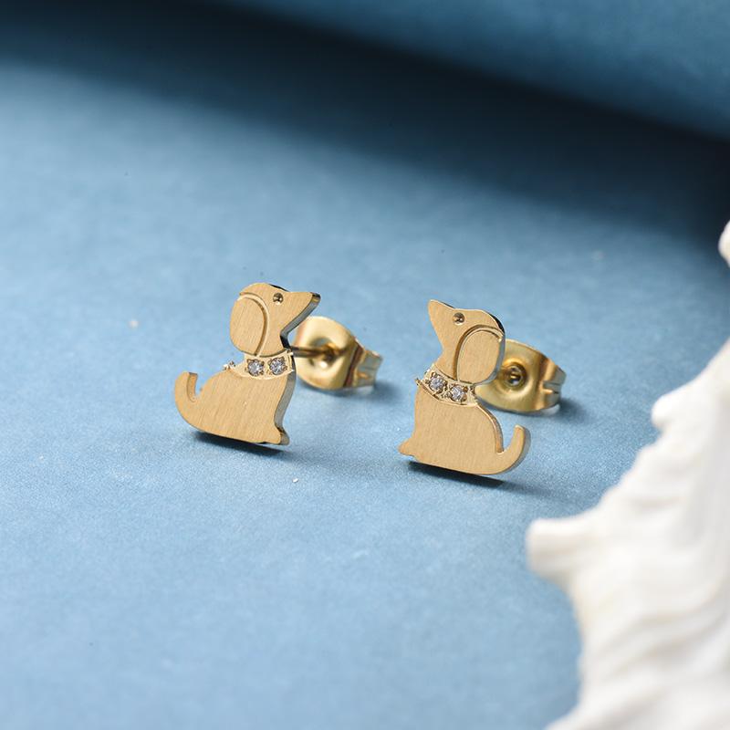 Aretes de Acero Inoxidable -SSEGG139-25812