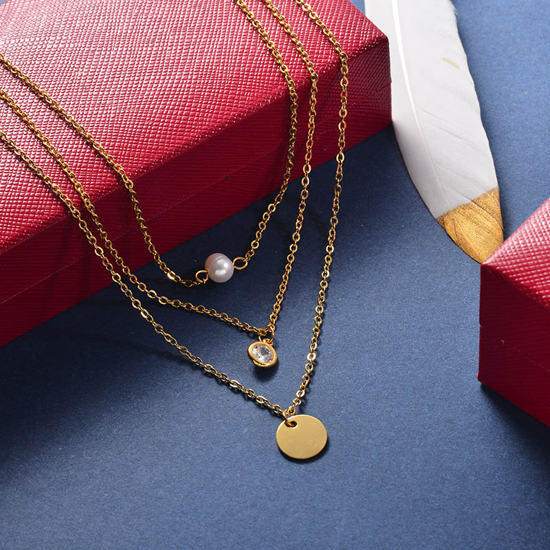 Collares de Acero Inoxidable -SSNEG142-25962
