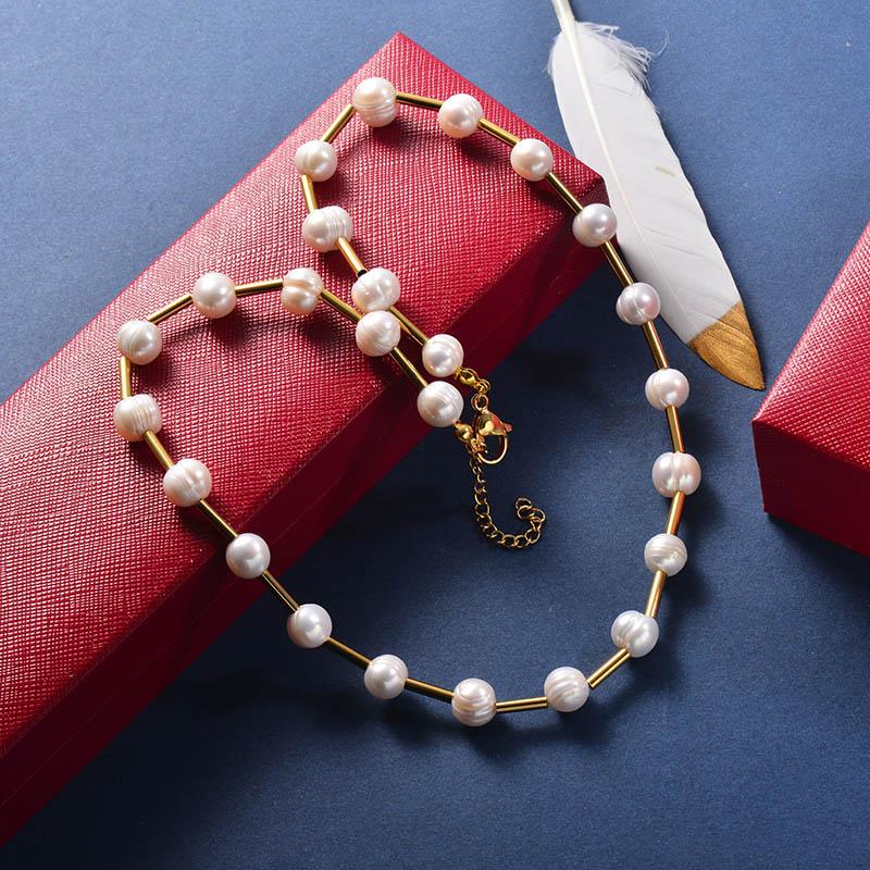 Collares de Acero Inoxidable -SSNEG142-25963