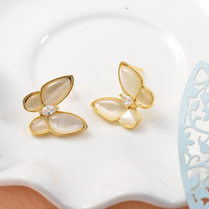 Aretes de Acero Inoxidable para Mujer -SSEGG157-25720