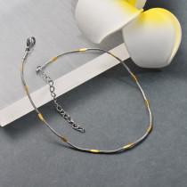 Tobilleras de Acero Inoxidable para Mujer -SSTDG200-25696