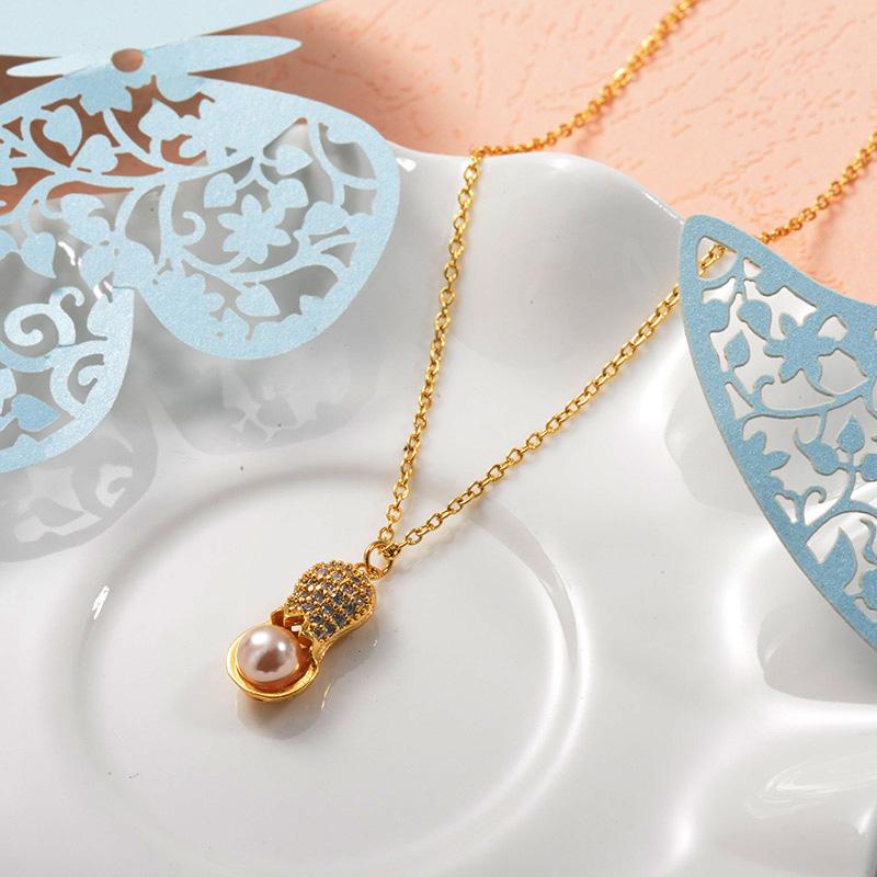 Collares de Acero Inoxidable para Mujer -SSNEG157-25728