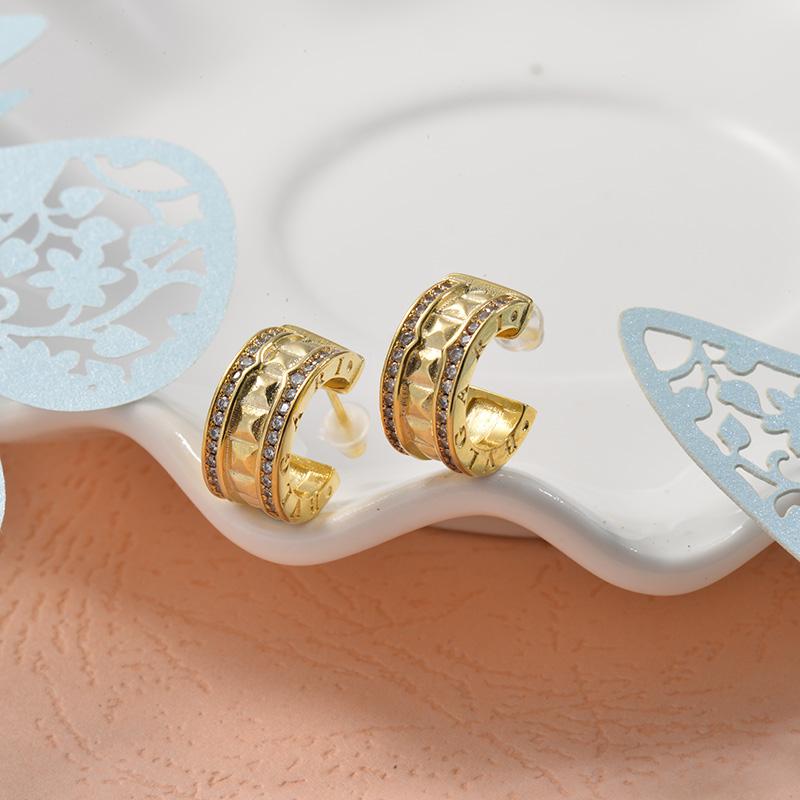 Aretes de Acero Inoxidable para Mujer -SSEGG157-25716