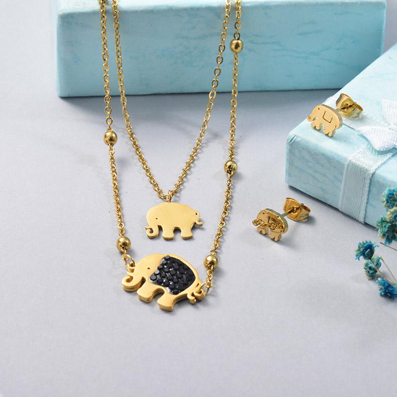 Conjuntos de Acero Inoxidable para Mujer -SSCSG201-25638