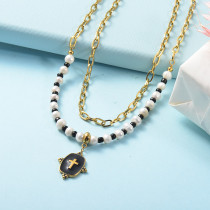 Stainless Steel Necklace -SSNEG142-26067