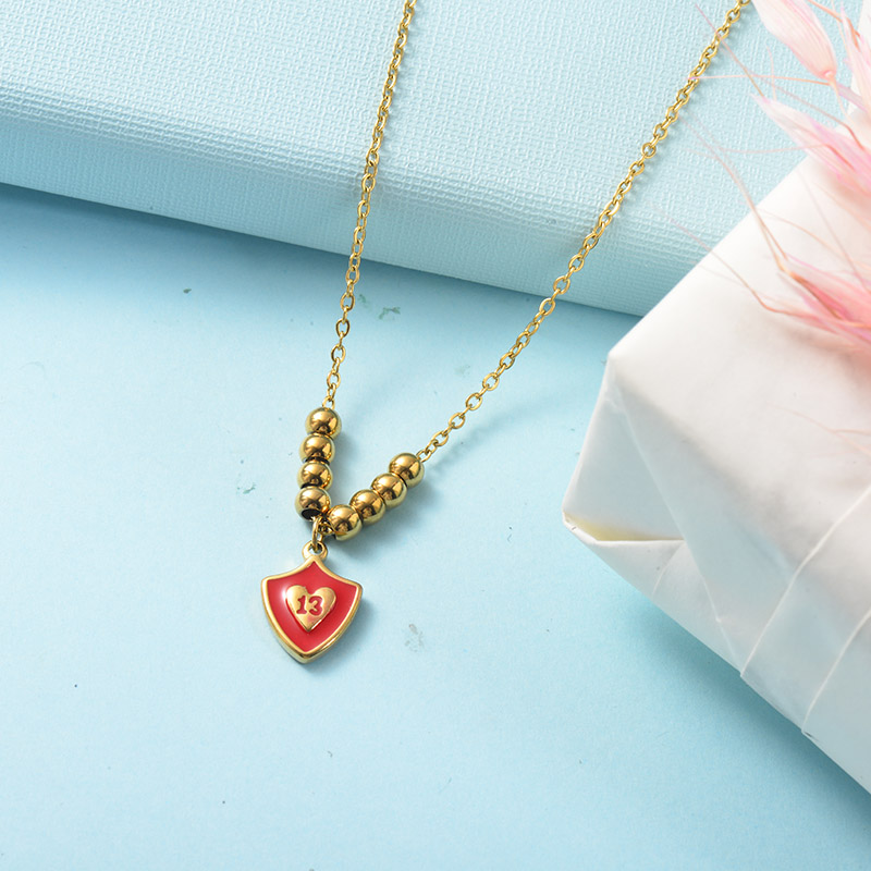 Stainless Steel Necklace -SSNEG142-26068