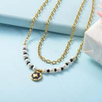 Stainless Steel Necklace -SSNEG142-26066
