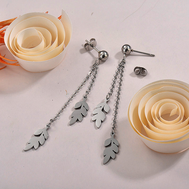 Sets de Aretes en Acero Inoxidable -SSEGG40-26289