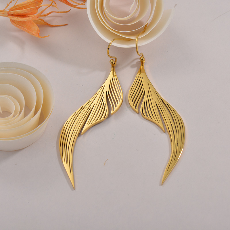 Sets de Aretes en Acero Inoxidable -SSEGG40-26283
