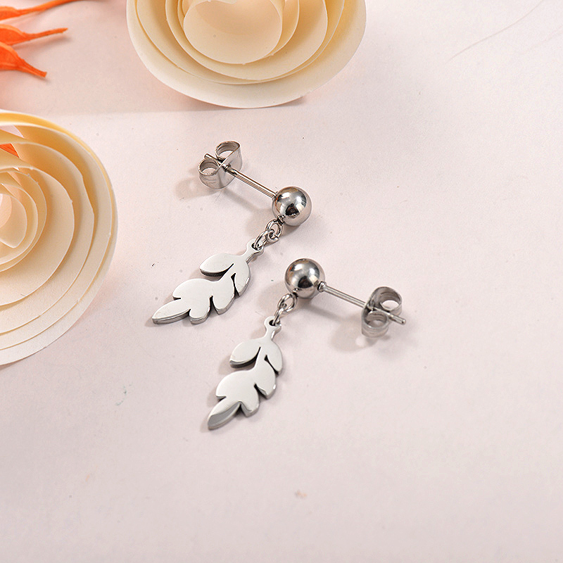 Sets de Aretes en Acero Inoxidable -SSEGG40-26291