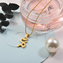 Collares de Acero Inoxidable para Mujer -SSNEG142-26742