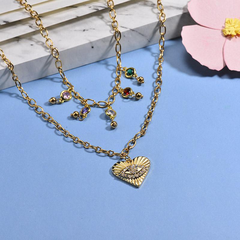 Collares de Acero Inoxidable para Mujer -BRNEG142-26654