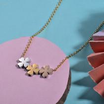 Collares de Acero Inoxidable para Mujer -SSNEG143-26883