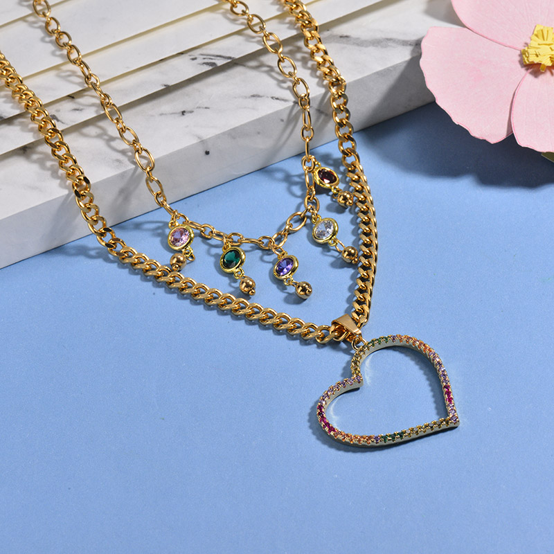 Collares de Acero Inoxidable para Mujer -BRNEG142-26652